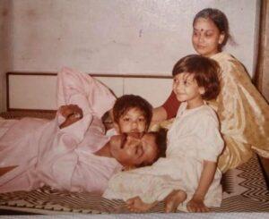 Shruti Sharma Family